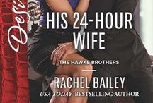 The Hawke Brothers / Harlequin Desire books about the three Hawke Brothers
