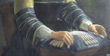 Bobbin lace - makers in art