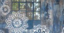 Lace - installation, street art