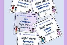 Teaching Sight Words K-3 / Sight words are important in the early grades, kindergarten, 1st grade, 2nd grade, and 3rd grade. Knowledge of high frequency words makes reading easier.