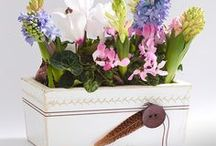 Vaso Decorativo / Vai dar flores de presente nesse Dia das Mães? Que tal surpreender e fazer você mesmo um vaso decorativo? Veja nesse passo a passo como é fácil!