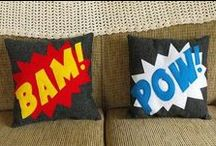 Superhero Guest Room / by Linda Anderson