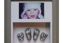 3D Baby Casts / As selection of baby casts made by Everlasting Castings