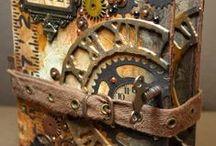 industrial grunge and steampunk
