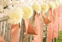 A Pink Wedding / Pink can be a soft, beautiful color or a bright, fun color for your wedding.