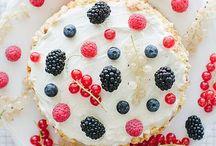 Food styling-cake