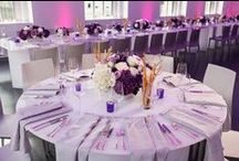A Purple Wedding / Add the pizzazz of purple to your special day!