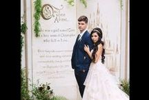 A Fairytale Wedding / Wedding Theme: Fairytale! What girl doesn't feel like she's living a princess story out when she's with her groom?