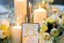 A Yellow Wedding / Yellow can be such a fun wedding color, don't knock it till you see it!