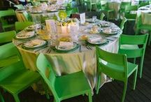 A Green Wedding / Go green for a beautiful wedding that will make you the couple to envy!