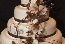 A Brown Wedding / Brown can be a very tasteful wedding color when done right!