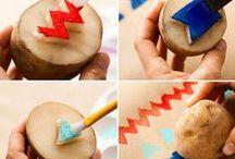 DIY met kinderen / Knutselen met kinderen is leuk! Hier vind je ideeën om je te inspireren, veel plezier!