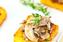 Food styling- polenta