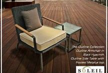 Soleil Outdoor Lounge Suites / Outdoor Patio Lounge Suites.