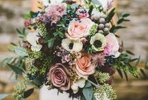 Florals / Flower designs, inspirations, arrangements for catered events and weddings. Also - some great flower guides based on the type, color, and season of your event.