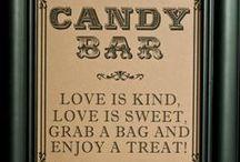 Bar à bonbon / Idée pour créer un bar à bonbon