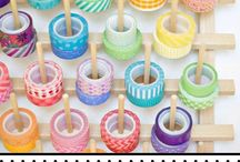 Organised Arts & Craft / Enjoy your arts & crafts projects even more with these organising tips