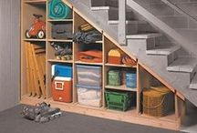 Organised Basement / Enjoy your basement even more with these organising tips.