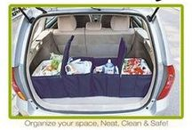 Organised Car / Enjoy the time in your car more with these organising tips.