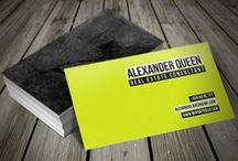 Duplex & Triplex Business Cards