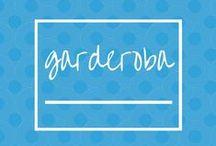 GARDEROBA / Pomysły do garderoby - inspiracje.