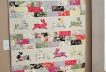 Baby quilts and appliques