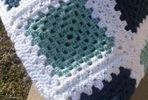 African flowers y granny square