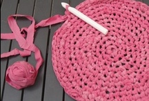 Creative - Rags / Rugs / There are so many things one can do with rags when u really want a rug!