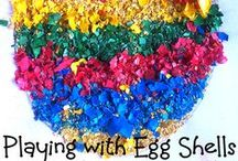 Easter Kids Crafts + Ideas / A collection of Easter crafts and ideas for toddlers, preschoolers and kids in general. oh babies too! / by Nicolette | Powerful Mothering