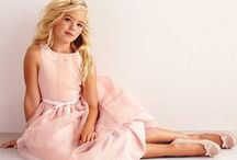 THE Perfect Dress... / ...for your little girls big day!  Unless otherwise noted, all dresses are our own!