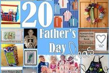 Fathers Day / gifts for dad from toddlers and preschoolers! Art, crafts and all things DIY. Happy Fathers Day!