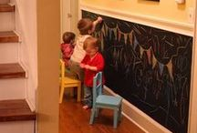 Kids Area Ideas / Kids area and spaces, inspiration and ideas for the kids playroom and outside play area