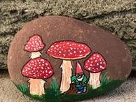 pebbles and stones - Mushrooms