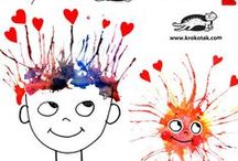 Kids Arts   Painting   Drawings / Art, paint and drawing ideas for toddlers and preschoolers