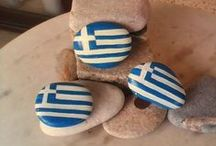 pebbles and stones - Flags
