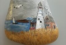 pebbles and stones - Lighthouse