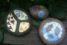 pebbles and stones - Peace