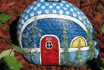 pebbles and stones - Little Houses 3