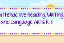 * Interactive Reading, Writing, and Language Arts K-8Jackie Crews /   Share and don't flood the board. Freebies are always welcome. Constant repins are not welcome.  Do not advertise your store, but feel free to invite a teacher friend.