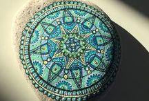 pebbles and stones - Mandalas