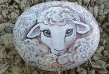 pebbles and stones - Sheeps