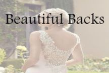 Beautiful Backs / Wedding gowns with amazing backs. All these gowns can be found right here in store, at Wolsfelts.