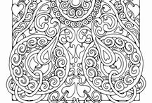 Coloring Gfx / The busier the better. High res coloring pages to print out and enjoy!