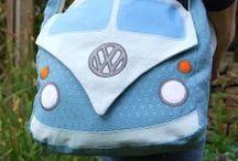 VW Bulli / Creative Bilder zum Bulli und zu Caravanhänger
