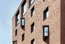 Contemporary Brick Architecture / The modern brick, explore the arrival of a new brick generation.