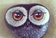 pebbles and stones - Owl II