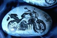 pebbles and stones - Motorcycles