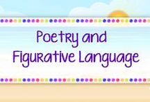 *POETRY AND FIGURATIVE LANGUAGE JACKIE CREWS / POETRY & FIGURATIVE LANGUAGE resources  grades K-8. Share the board. Do not advertise your store. Please delete old pins before repinning. Visit my TPT store: https://www.teacherspayteachers.com/Store/Jackie-Crews