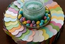 Wrap it in love this Easter / Easy do-it-yourself project for making easy centerpiece or small wreath. Covered in love. / by Paper-Papers