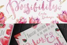 Calligraphy / Pretty inspirational calligraphy